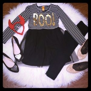 Boo girls outfit